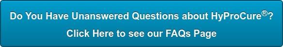 Do You Have Unanswered Questions about HyProCure? Click Here to see our FAQs Page