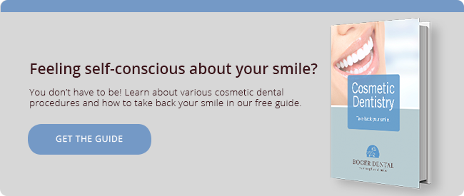 Read our guide to learn about your cosmetic dentistry options.