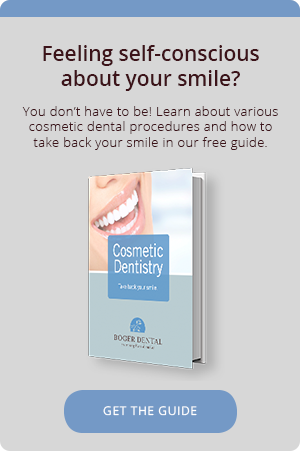 Feeling self-conscious about your smile? You don't have to be! Learn about various cosmetic dental procedures and how to take back your smile in our free guide.