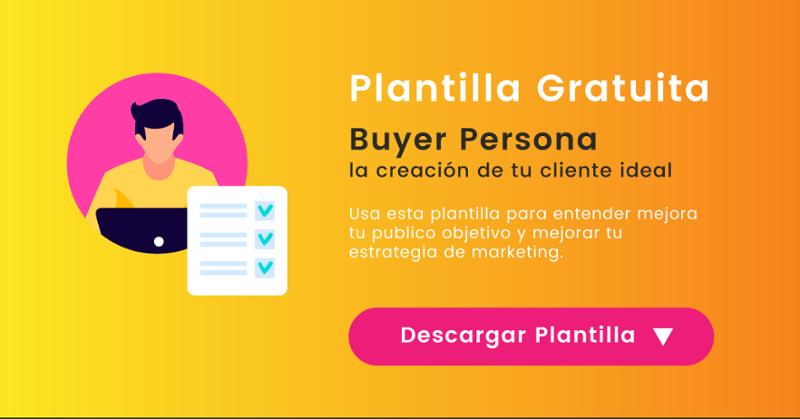 Descargar plantilla gratuita de Buyer Persona | Mínima Compañía