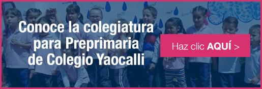 Colegiatura para la mejor preprimaria para niñas de colegio yaocalli - inscripciones 2016-2017