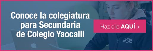 Colegiatura para la mejor secundaria para niñas de colegio yaocalli - inscripciones 2016-2017