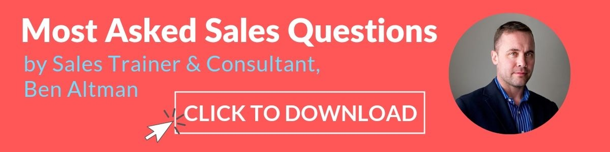 Most Asked Sales Questions