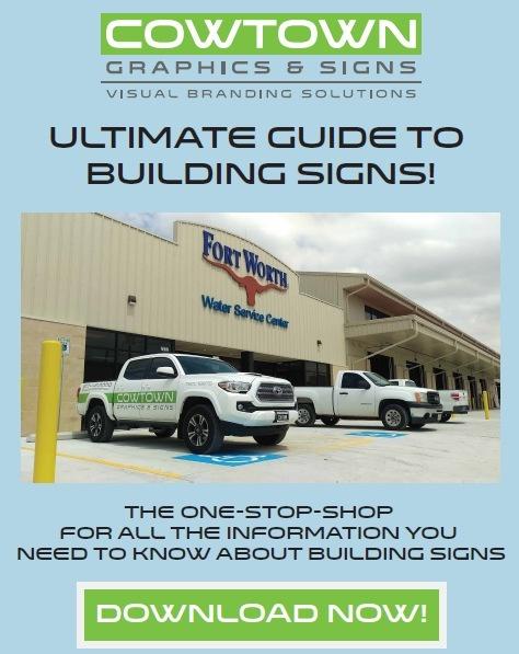 Building Signs DFW Metropolitan Area