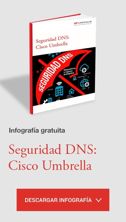 Infografia Seguridad DNS Cisco Umbrella