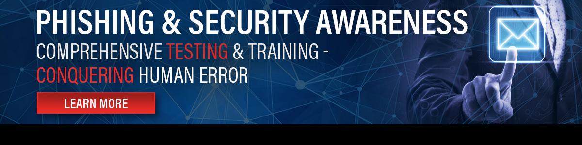 Phishing & Security Awareness Training