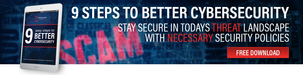 eBook: 9 Easy Steps to Better Cybersecurity