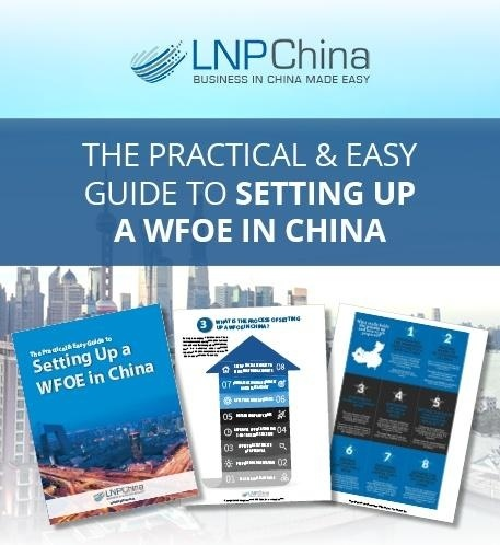 setting up a business in China