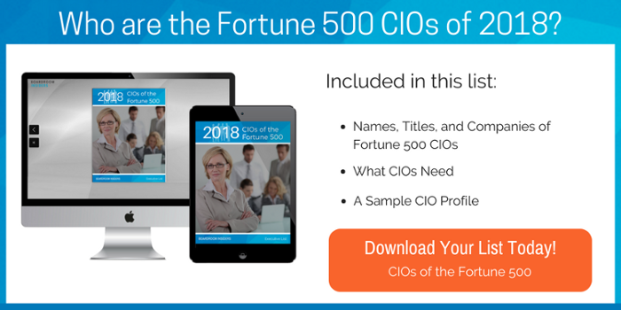 CIOs of the Fortune 500