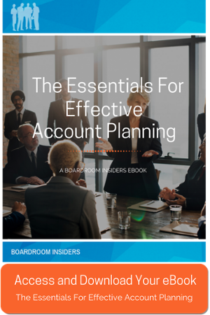The Essentials for Effective Account Planning