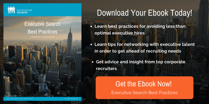 Executive Search Best Practices