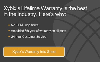 Xybix's Lifetime Warranty