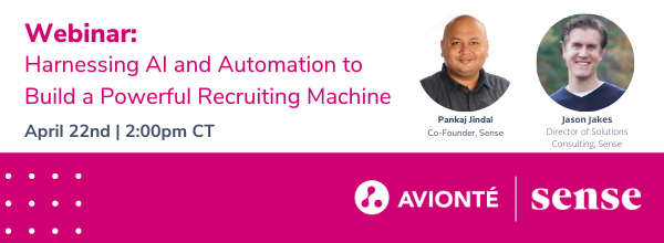 Webinar: harnessing AI and Automation to Build a Powerful Recruiting Machine