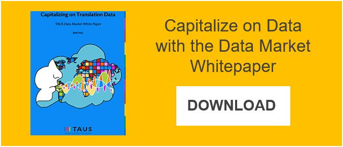 TAUS Data Market White Paper