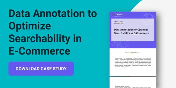 data annotation to optimize searchability case study
