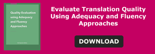 Adequacy/Fluency Guidelines