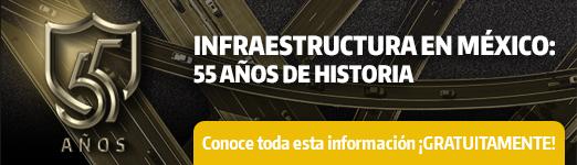 55 años de infraestructura