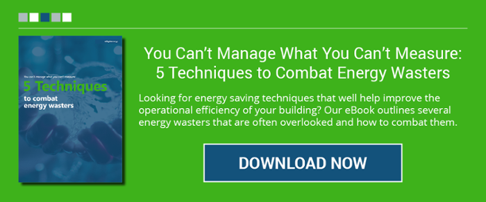 You cant't manage what you can'y measure: 5 Techniques to combat energy wasters