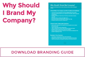 Why should I brand my company