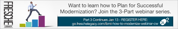 Fresche Legacy looksoftware IBM i modernization series webinar