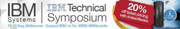 IBM i at IBM Technical Symposium Melbourne