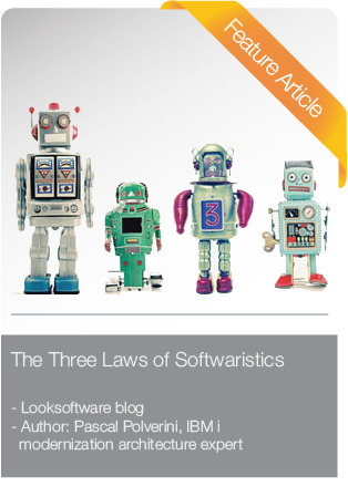 Feature article: The Three Laws of Softwaristics, by Pascal Polverini