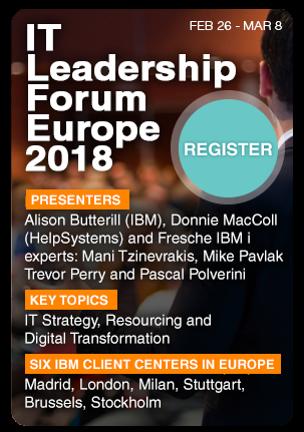 IT Leadership Forum Europe 2018 - Register today