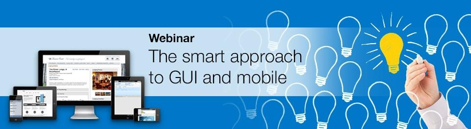 Watch the webinar: The smart approach to GUI and mobile on IBM i