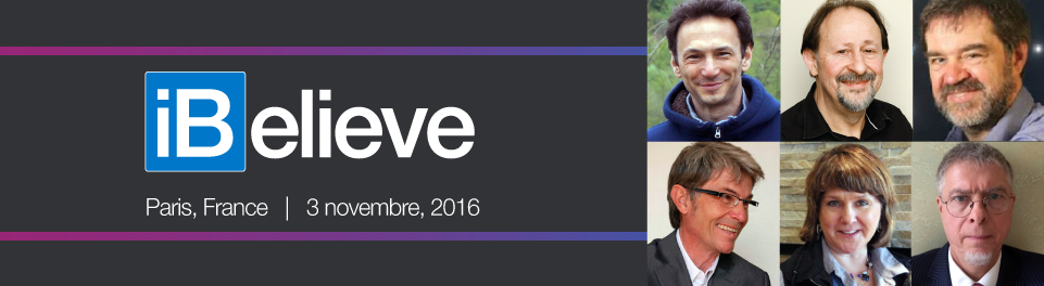Join us at iBelieve Paris on November 3
