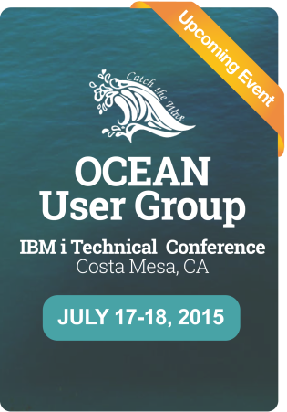 Join us at Ocean User Group!