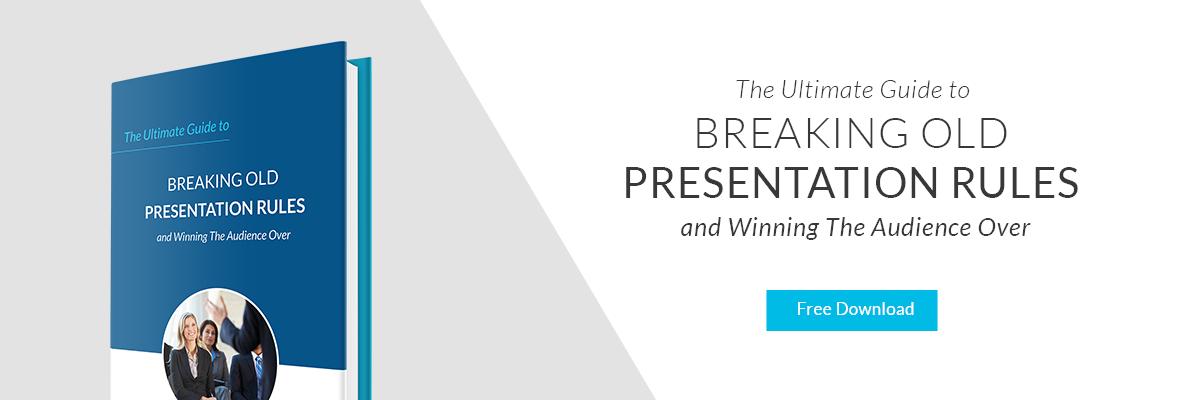Breaking Old Presentation Rules
