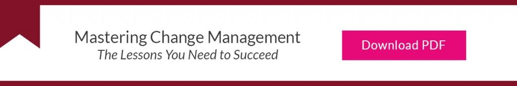 Mastering Change Management Inline