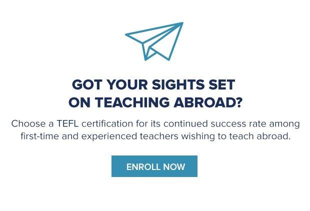 tefl teach abroad