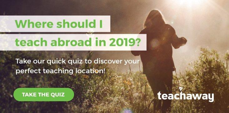 teach abroad quiz