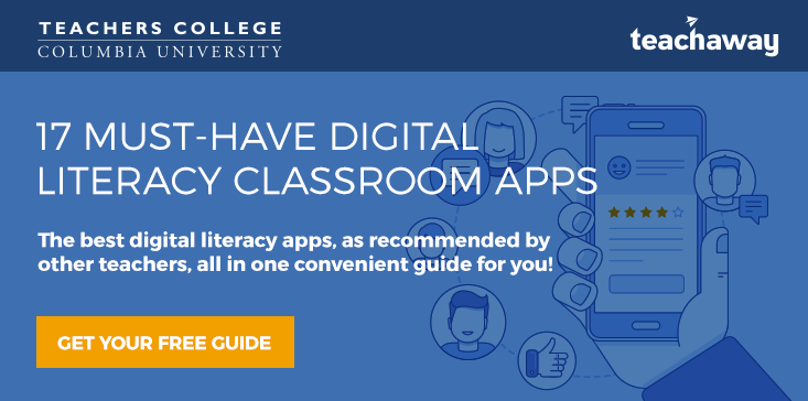 digital literacy classroom apps guide