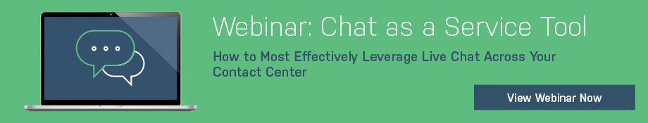 Webinar: Chat as a Service Tool