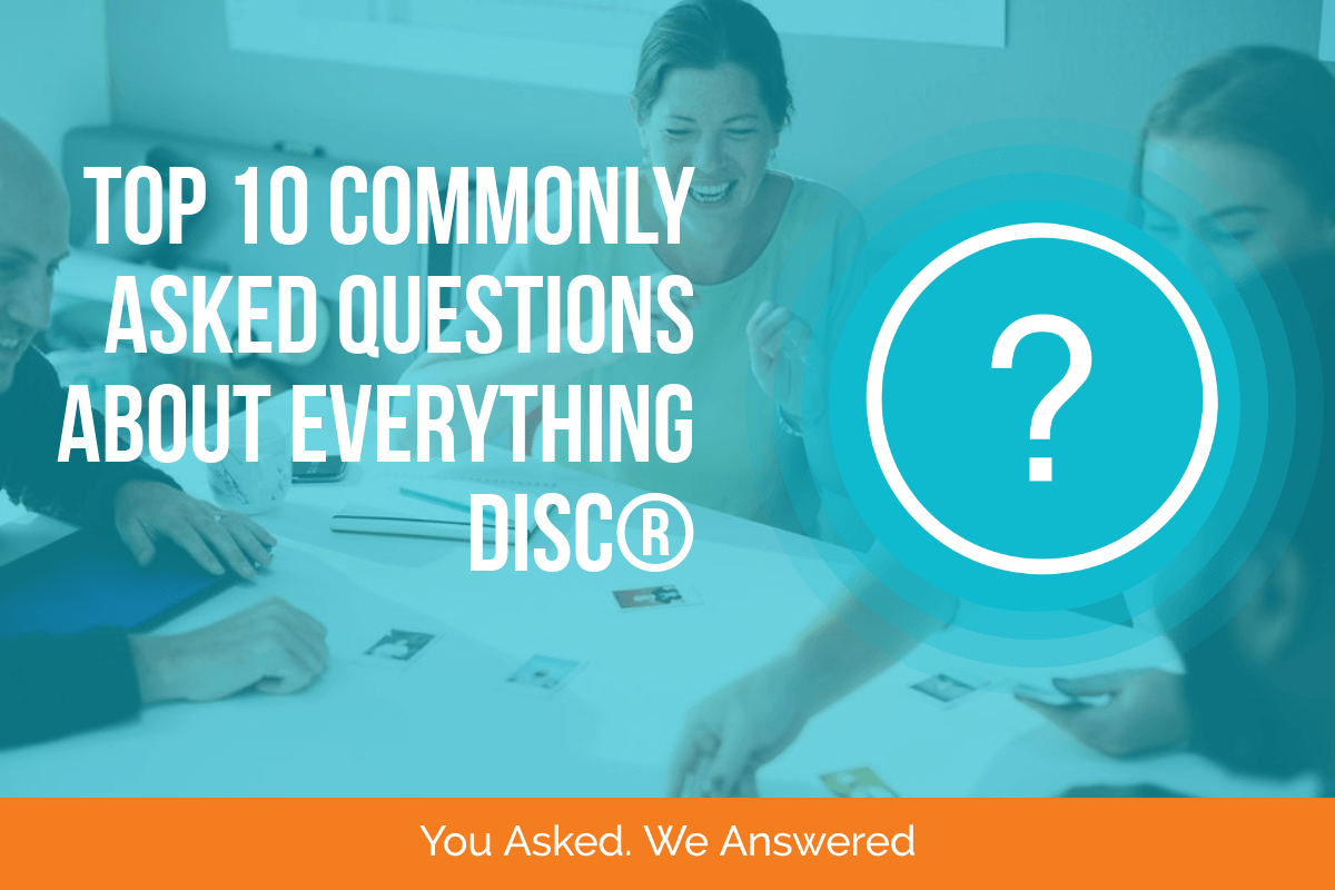 DiSC frequently asked questions