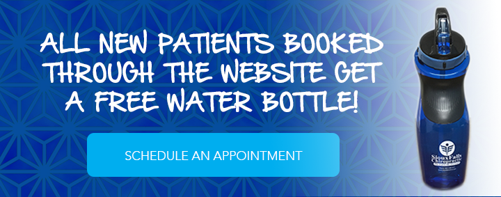 Schedule an Appointment or Free Consultation! All new patients receive a free water bottle!