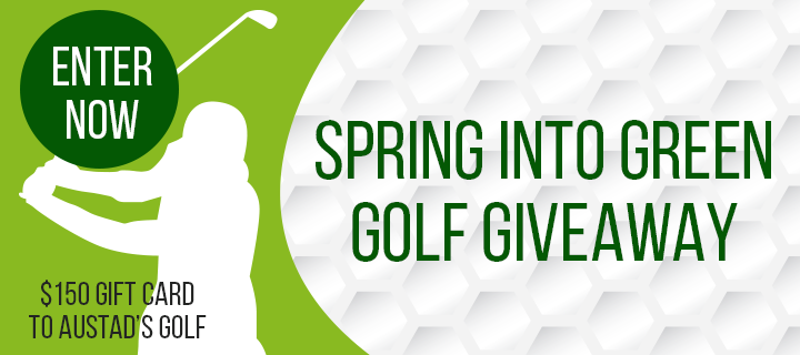 Sioux Falls Chiropractic Spring into green golf giveaway
