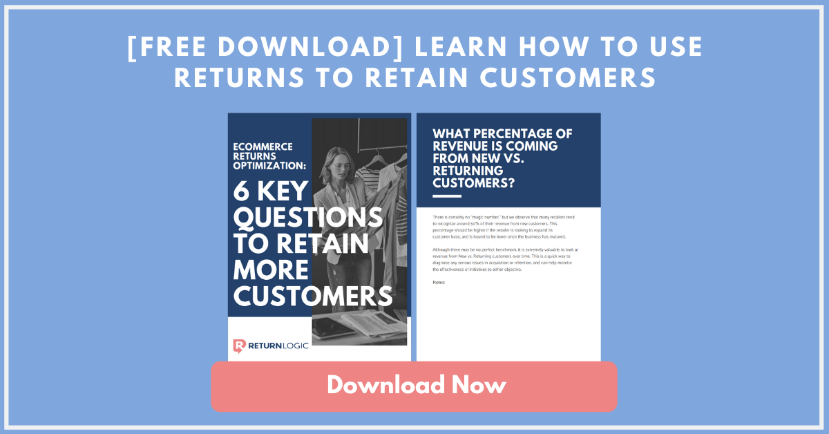Learn How to Use Ecommerce Returns to Retain Customers