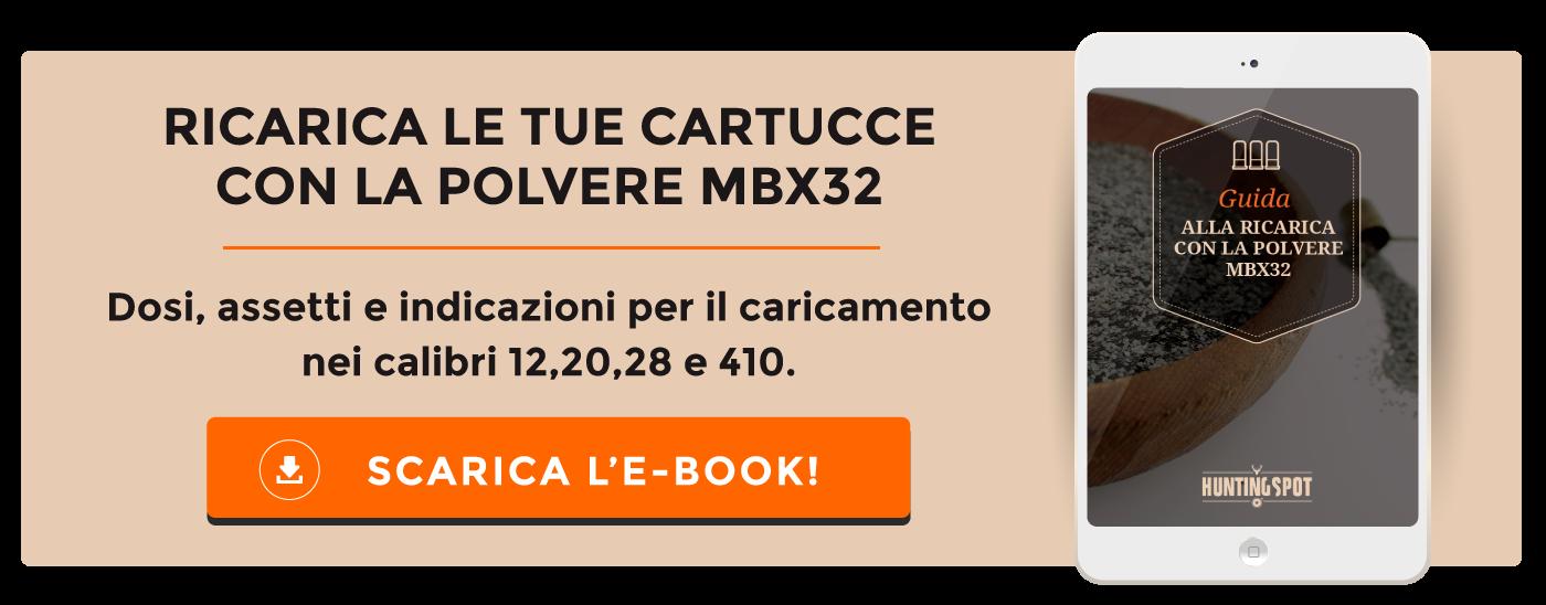 Guida alla ricarica con polvere MBx32