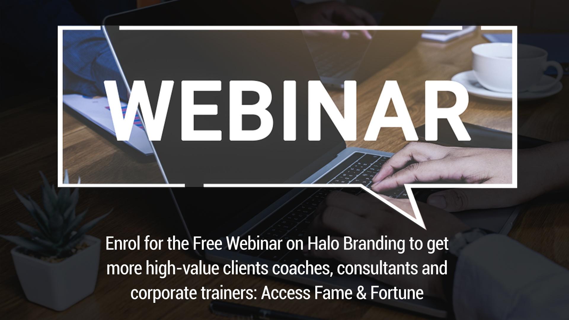 Halo branding free webinar