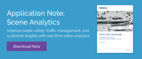 Turn cameras into IoT sensors with real-time video analytics software.