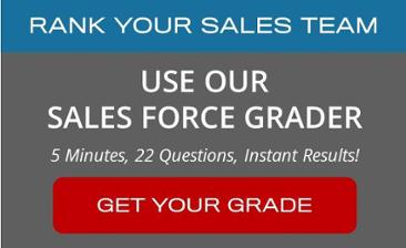 Use our Sales Force Grader to Rank Your Sales Team