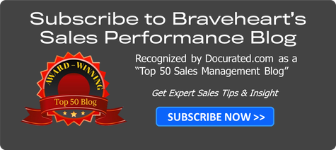 Subscribe to Braveheart's Sales Performance Blog