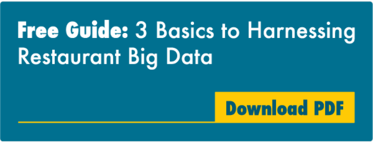Free Guide: 3 Basics to Harnessing Restaurant Big Data