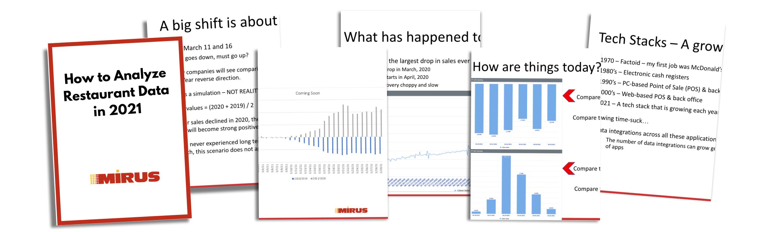 How to Analyze Restaurant Data in 2021
