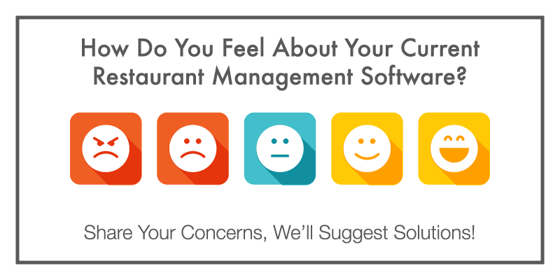 Restaurant Management Software Concerns