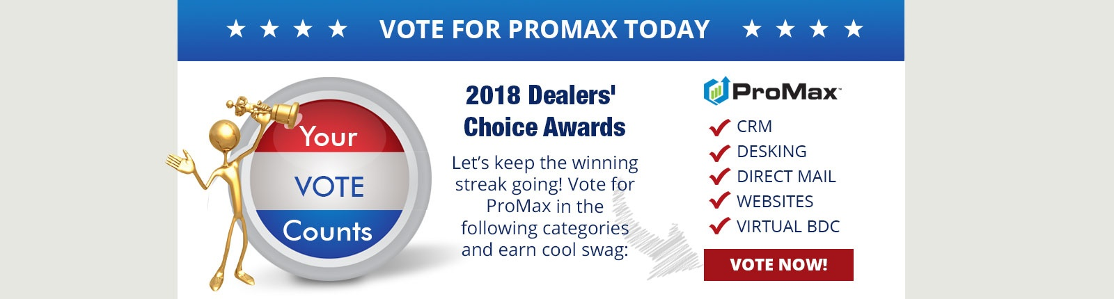 Vote for ProMax