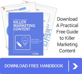 Dowload your Free Handbook on Marketing Content